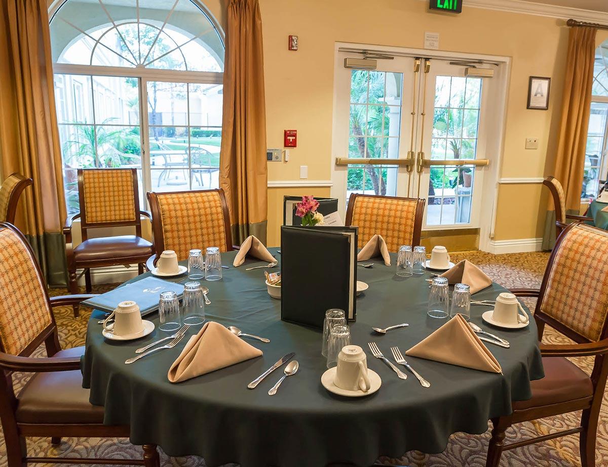 Bayshire Carlsbad Dining Room